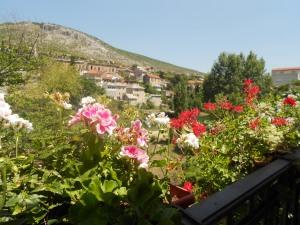 Riverside restaurant, Mostar